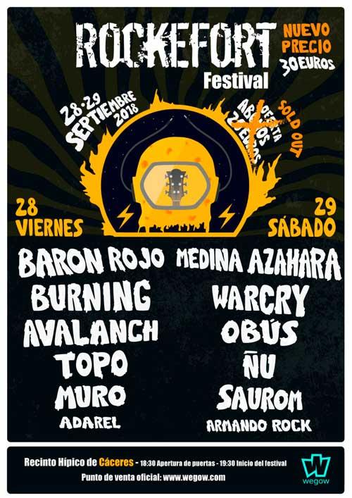 Rockefort Festival 2018