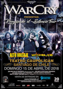 warcry en chile