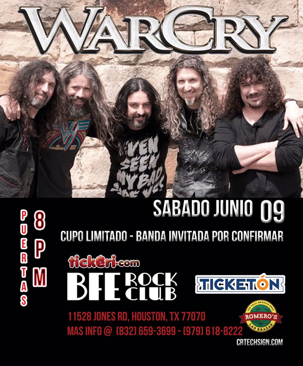 WarCry en Houston