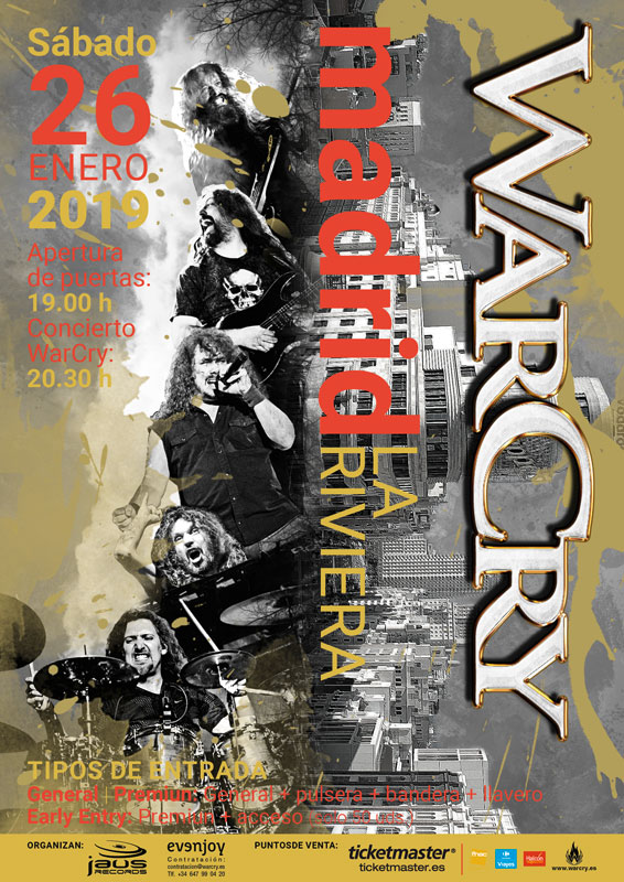 WarCry en Madrid