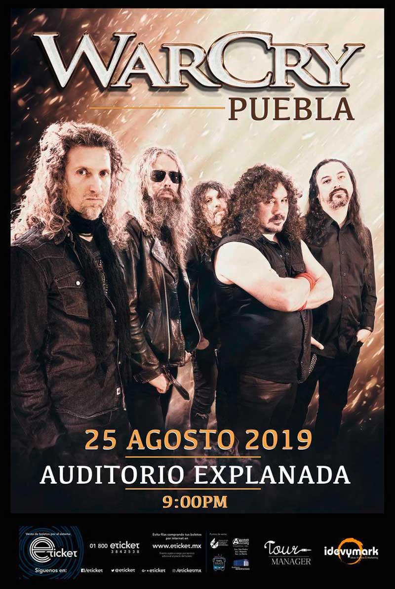 Puebla WarCry Gira México 2019