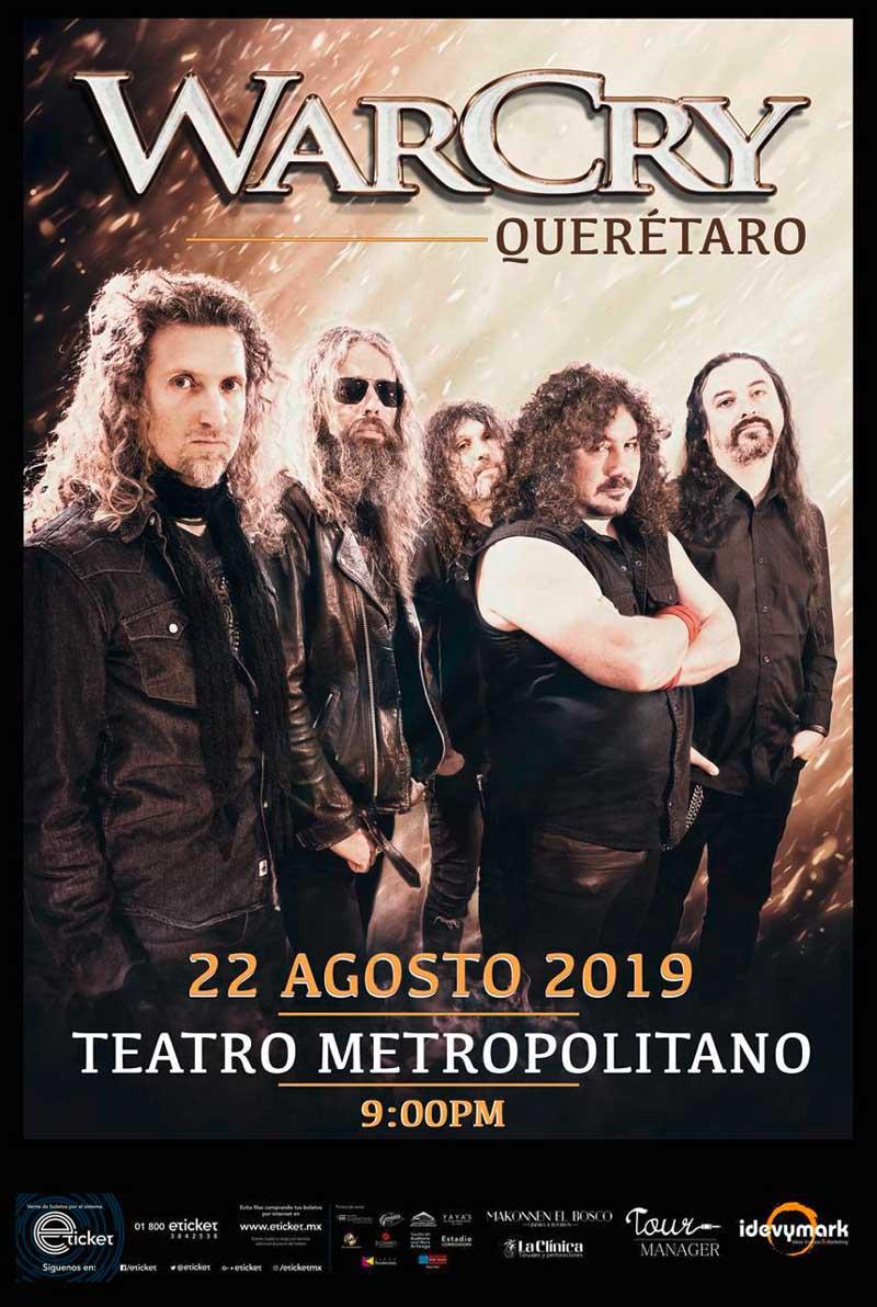 Querétaro WarCry Gira México 2019