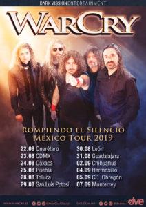 WarCry Gira México 2019
