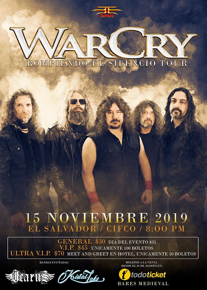 WarCry El Slavador